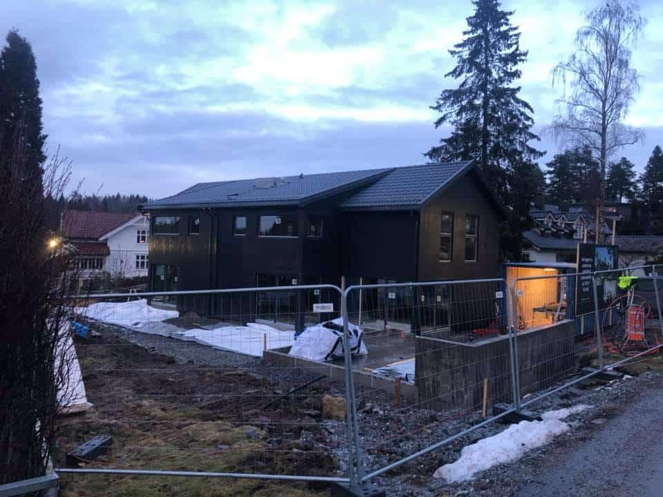 Bilde av oppføring av nybygg - Snekker Rakkestad - Larsen Kolstad Bygg AS
